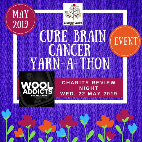 WoolAddicts Charity Review Night at Crumbz Craft