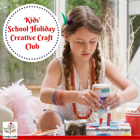 Kids' School Holiday Creative Craft Club