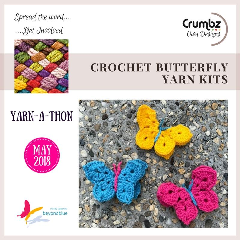 Crochet Butterfly (free digital pattern)