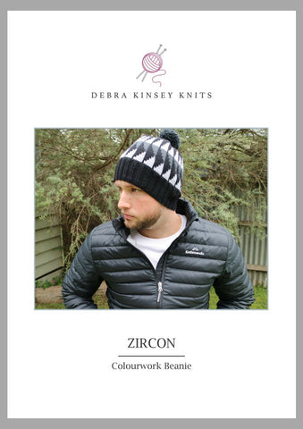 Zircon Colourwork Beanie