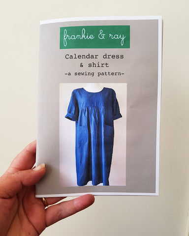 Calendar Dress & Shirt Pattern
