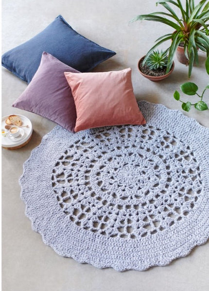 044 Crochet Mandala Throw