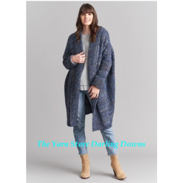 1013 Ravine Tweed Overcoat