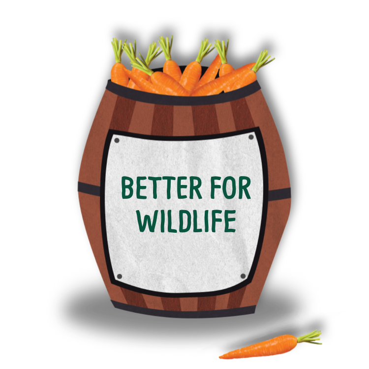 We are better for wildlife