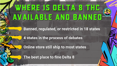 Where is delta 8 available
