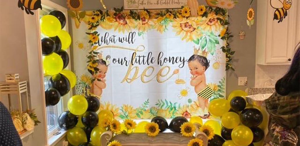 How to decorate your floral backdrop for your party
