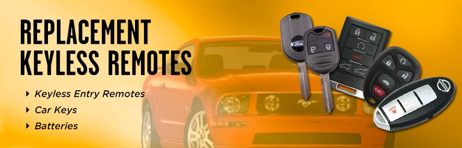 Car Remote Replacements