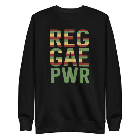 REGGAE POWER Unisex Fleece Pullover