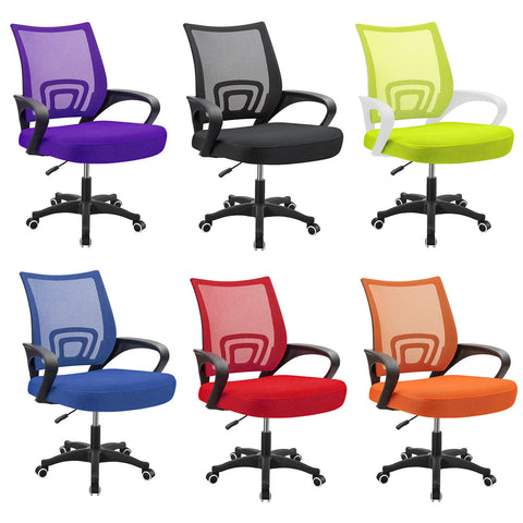 Ergonomic Desk Chairs in Different Colors