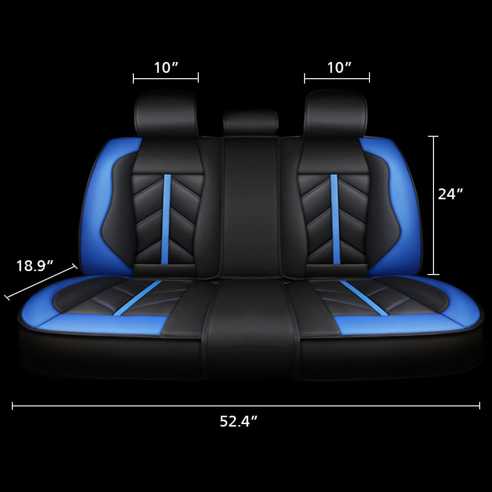 Car Rear Seat Covers Size