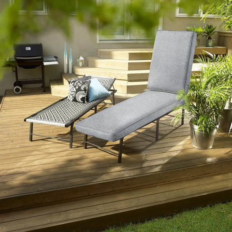 Chaise lounge cushion give you a comfortable relaxation