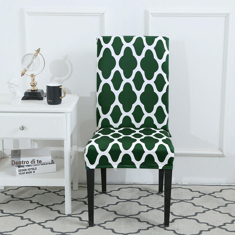 Green chair cover