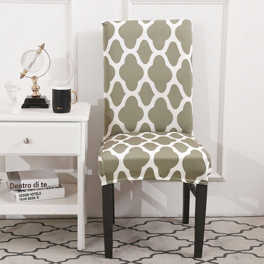 Gray green chair cover