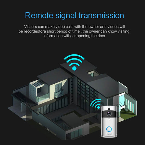 Signal transmission of the doorbell