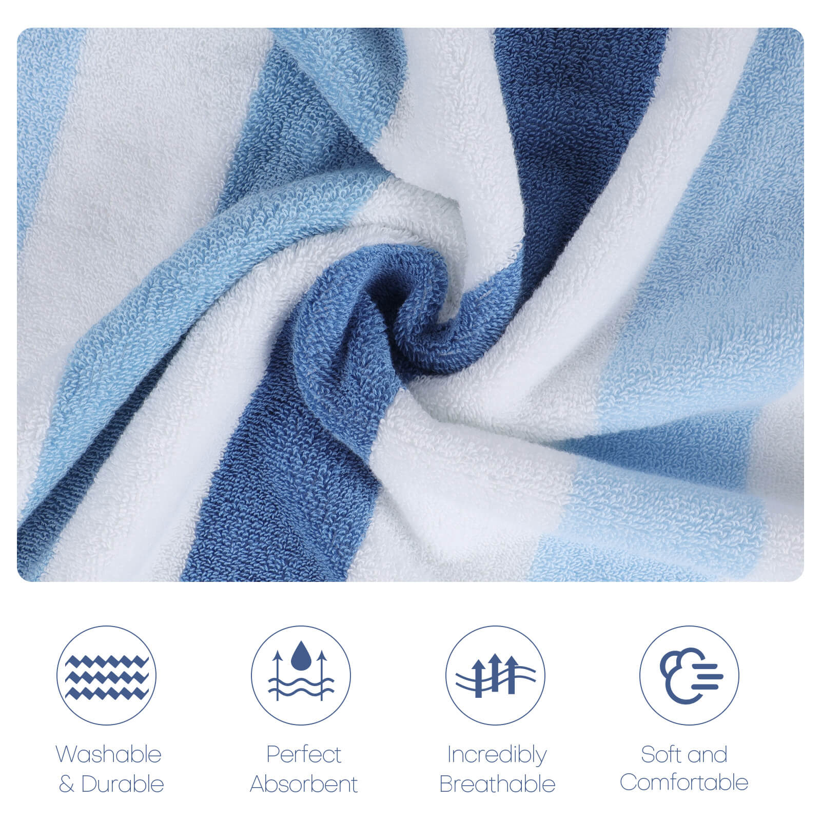 Functions of the Egyptian cotton bath towel set
