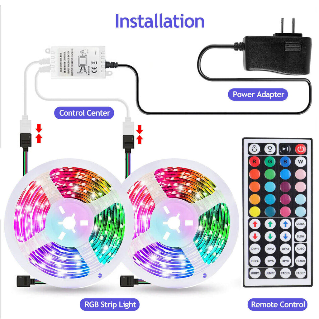 Installation of the LED strip light