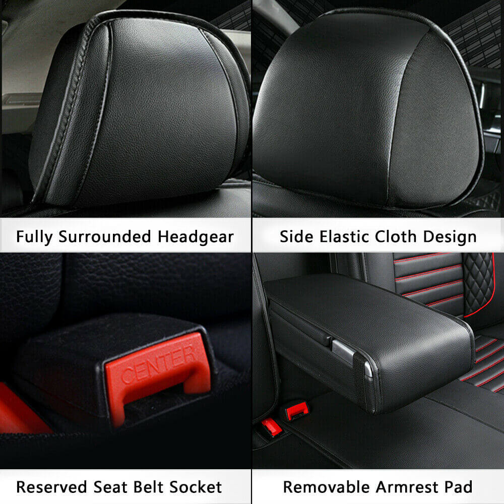 Details of car seat covers