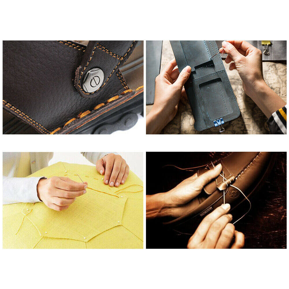 Usage of the leather sewing waxed thread