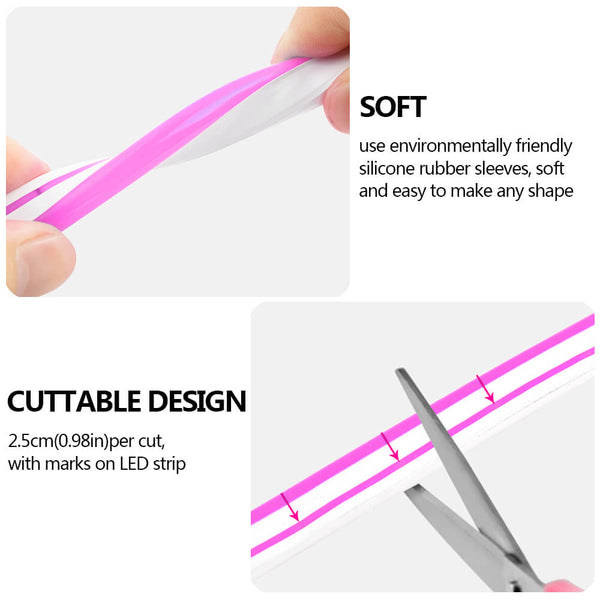 Soft and Cuttable Neon LED Light