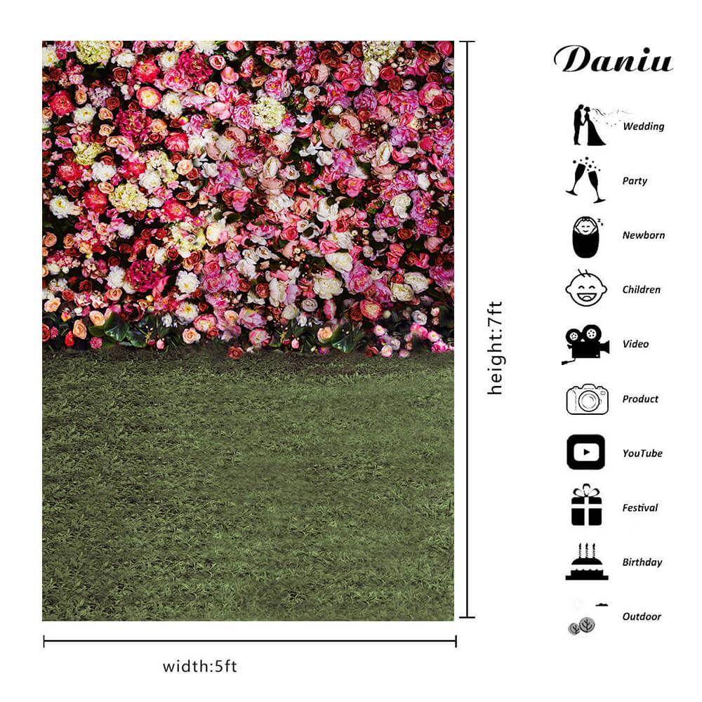 Vinyl Printed Photography Backdrop Uses