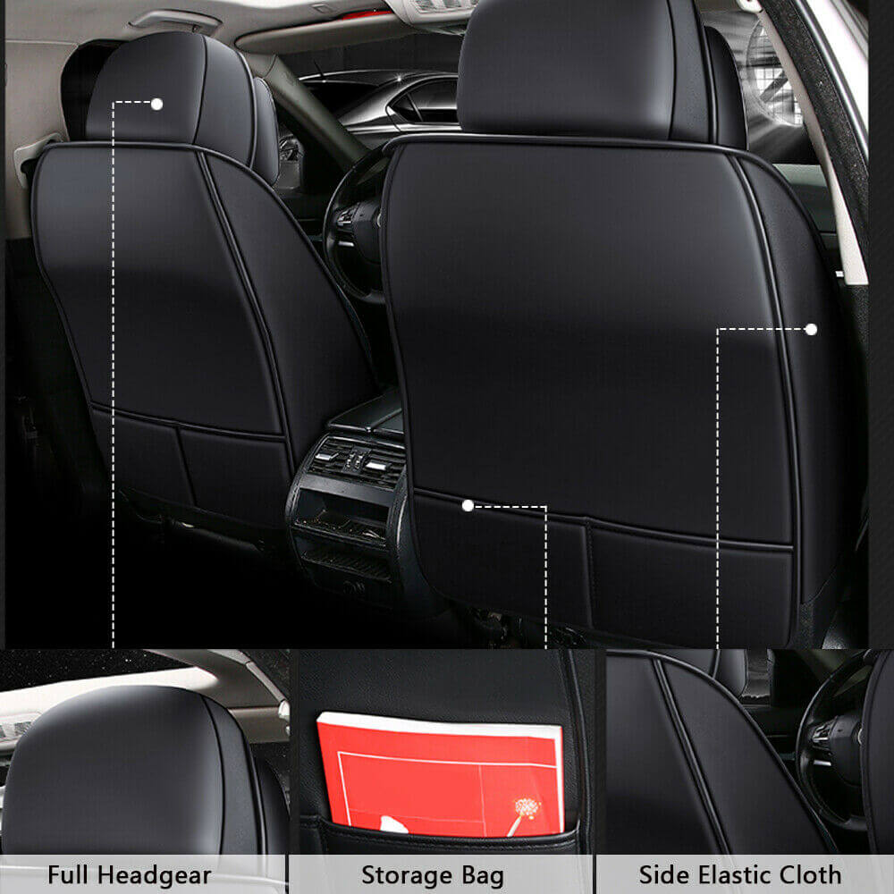 Seat cover feature