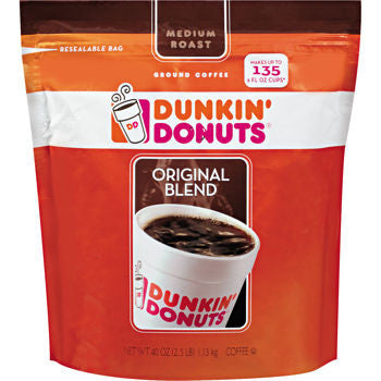 Dunkin' Donuts Original Blend Ground Coffee 40 OZ