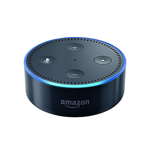 Echo Dot (2nd Generation) - Black or White Alexa Personal Assistant
