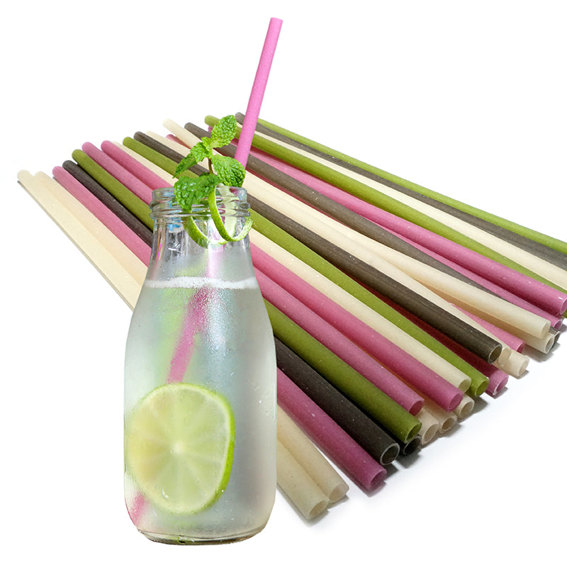 125 Edible Rice Straws Organic Biodegradable Vietnam Loves FDA approved Vegan Conservation