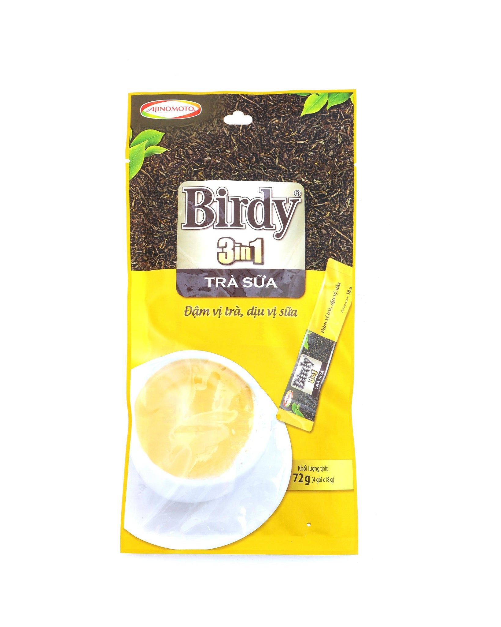 Birdy 3 in 1 Instant Milk Tea - Harmonious Combination of Thai Nguyen Tea and Milk