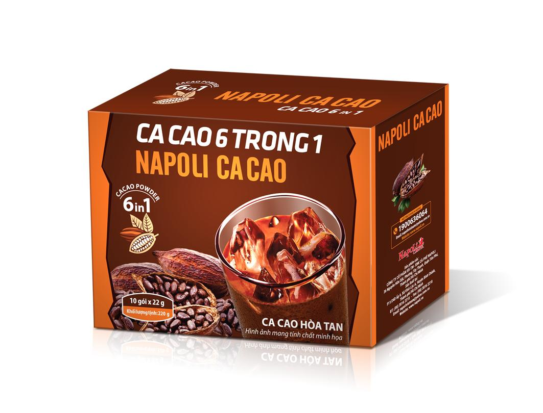 Instant Cocoa 6in1 by Napoli