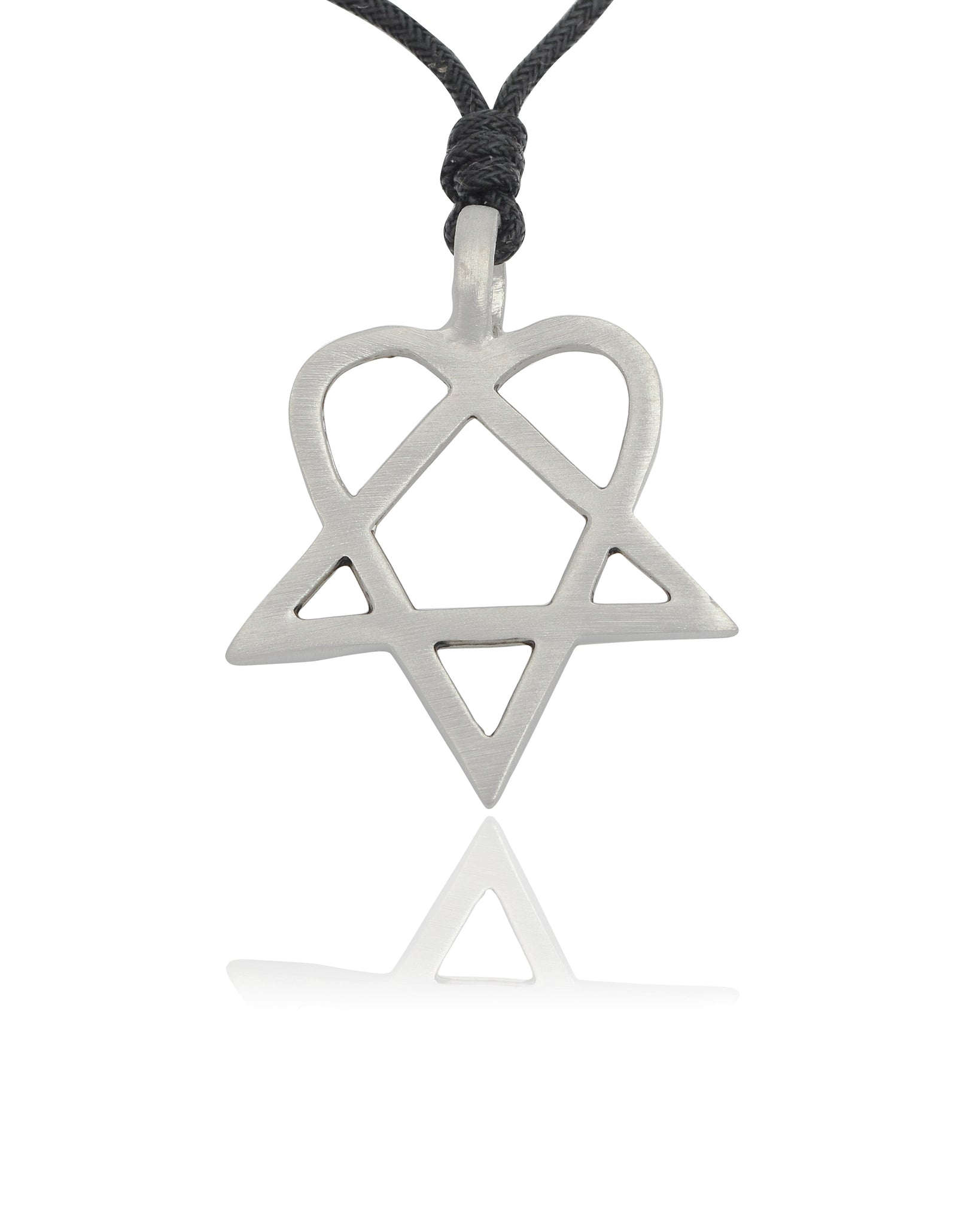 HIM Heartagram Silver Pewter Gold Brass Necklace Pendant Jewelry