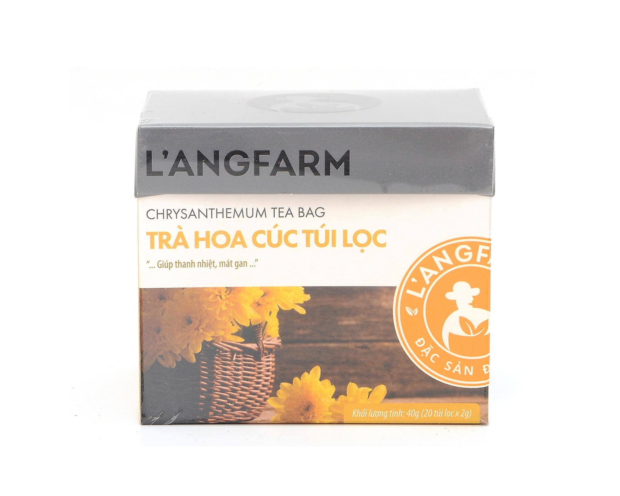 L'angfarm Langfarm Natural Organic Functional Herbal Tea Bag