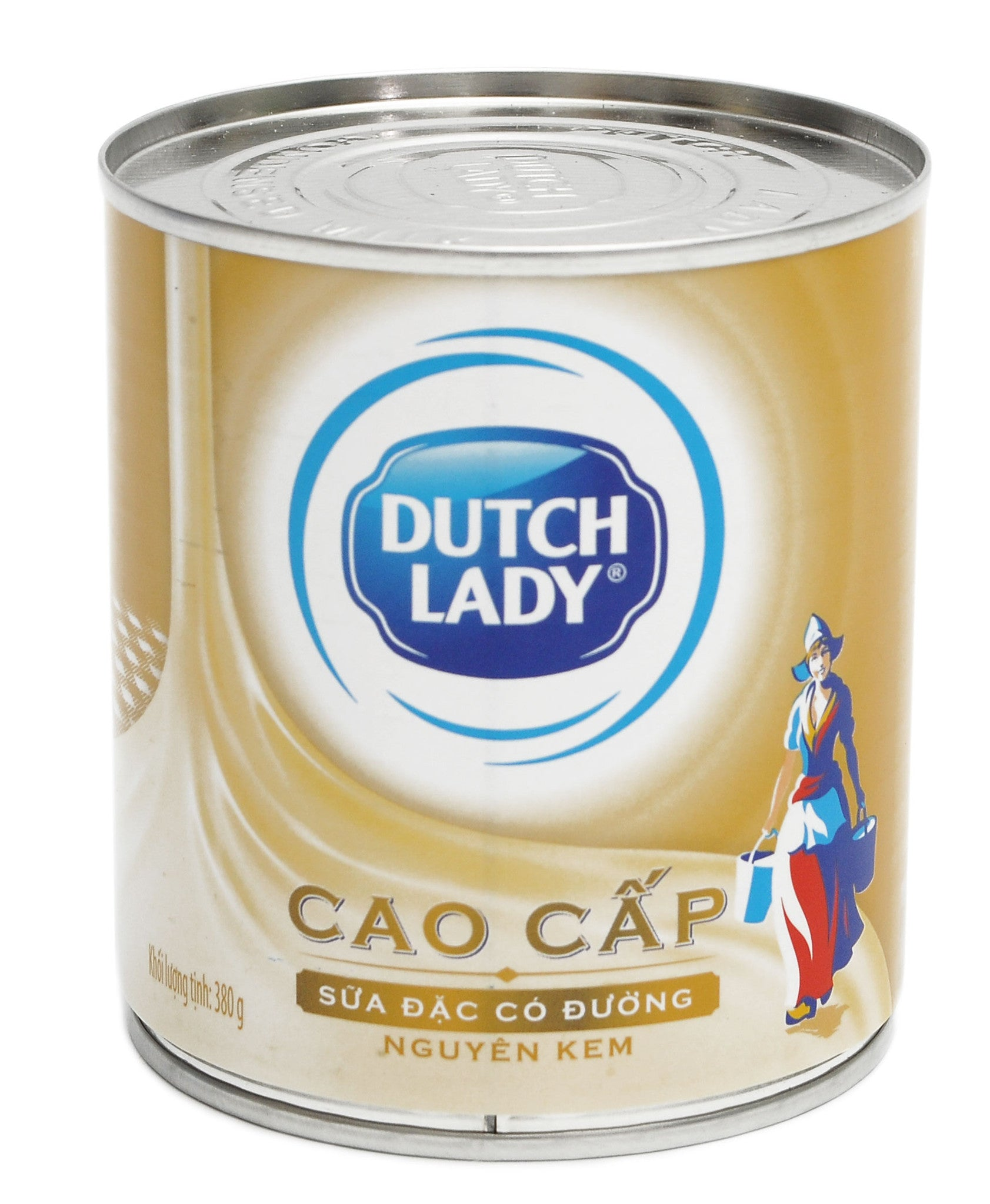 Dutch Lady Advance Raw Cream Sweetened Condense Milk Especially For Coffee Milk 380 Grams
