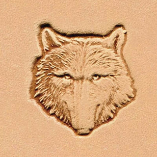 Wolf Head Craftool 3-D Stamp #88459-00 Tandy Leather