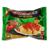 Omachi Potato Mixed Noodles with Spaghetti Sauce 91g- New Product