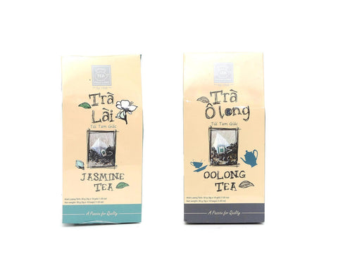 Phuc Long Vietnamese Tea In Triangle Tea Bags