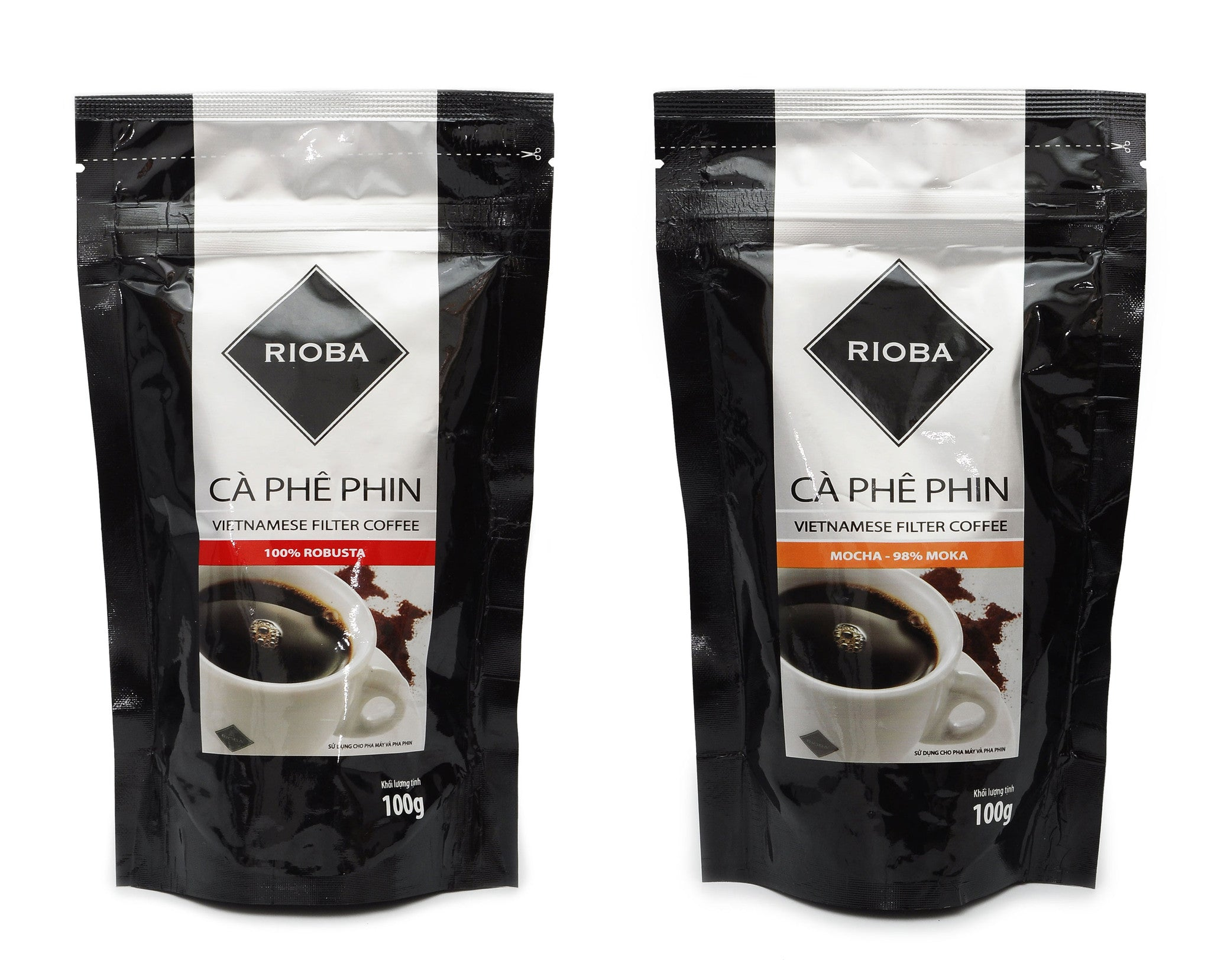 Rioba Vietnamese Filter Coffee – Pure Moka & Robusta Coffee