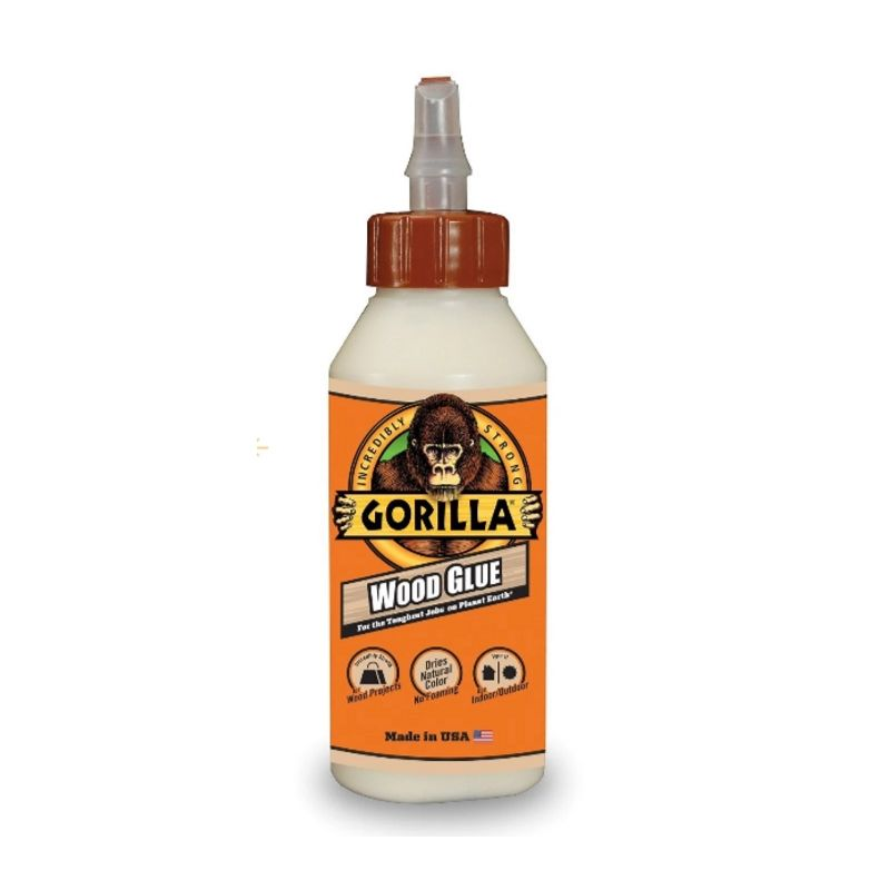 Gorilla White Gorilla Glue, 8 oz., Wood Glue