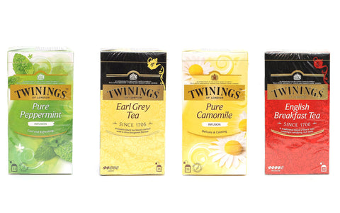 Twinings Of London – Natural Tea Filter Bags – Creating Satisfying And Rich Taste.