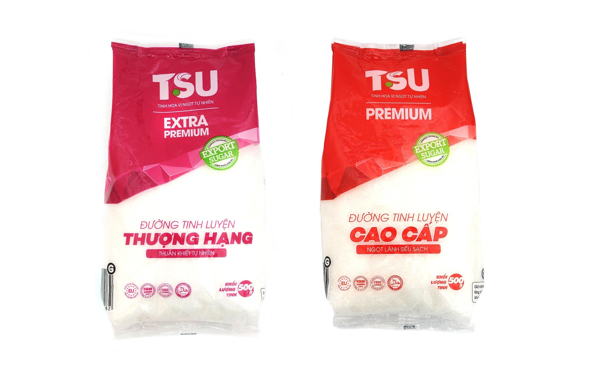 TSU PREMIUM & TSU EXTRA PREMIUM Refined Sugar – European Technology, Natural Sweetness
