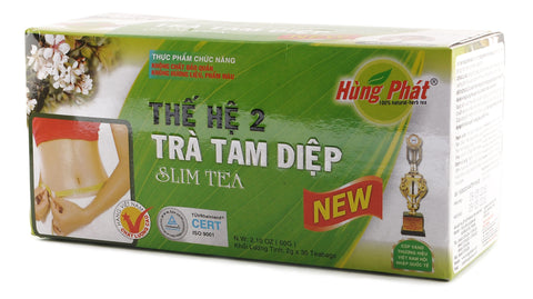 Hung Phat Tea 25-30 Bags 1 Box Vietnamese Slim Weight Loss