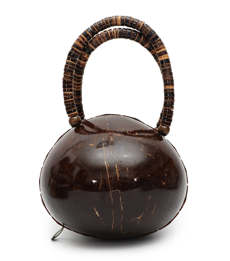 Vietnamese Handmade Coconut Shell Handbag Purse Pocketbook Organic Natural