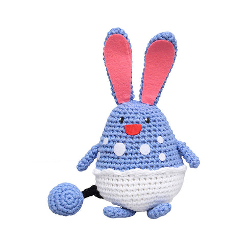 Blue Azumarill Pokemon Handmade Amigurumi Stuffed Toy Knit Crochet Doll VAC