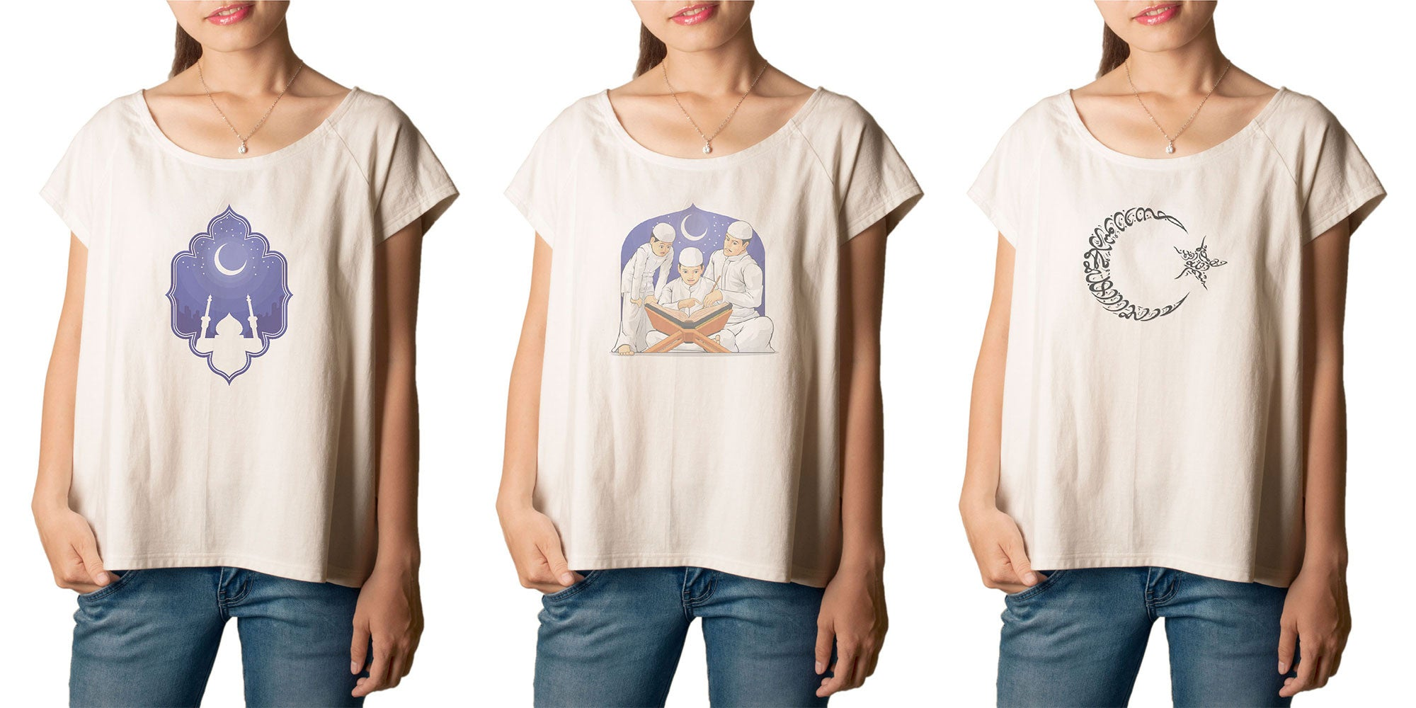 Women's Jewish Printed cotton T-shirt  Tee WTS_01