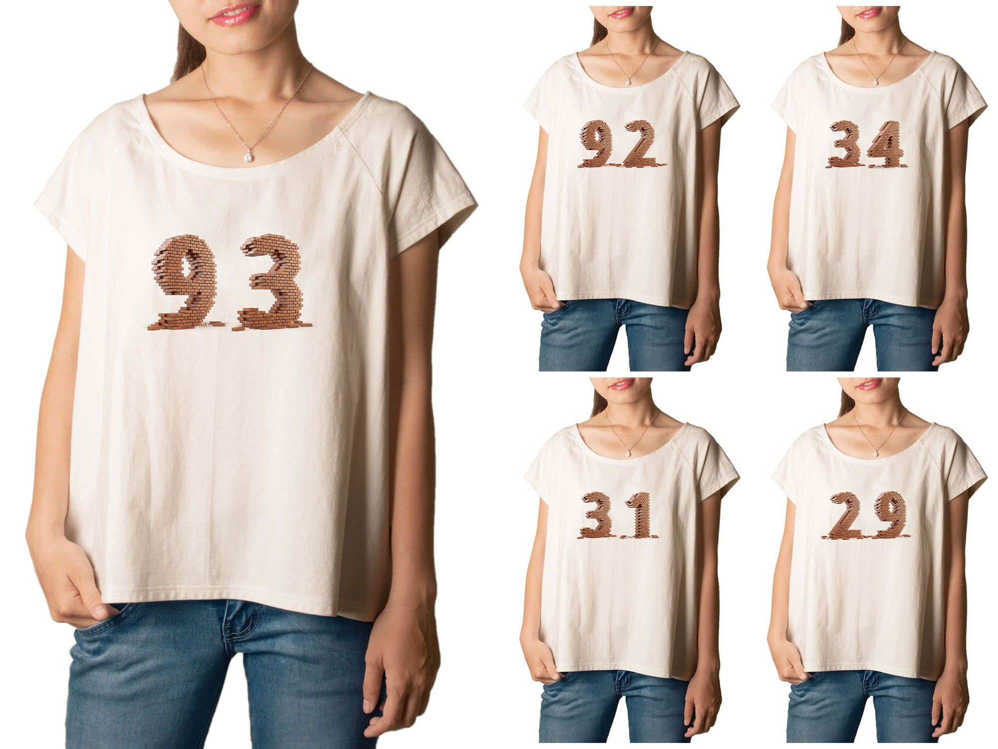 Women Number 1 Printed T-shirt WTS_01