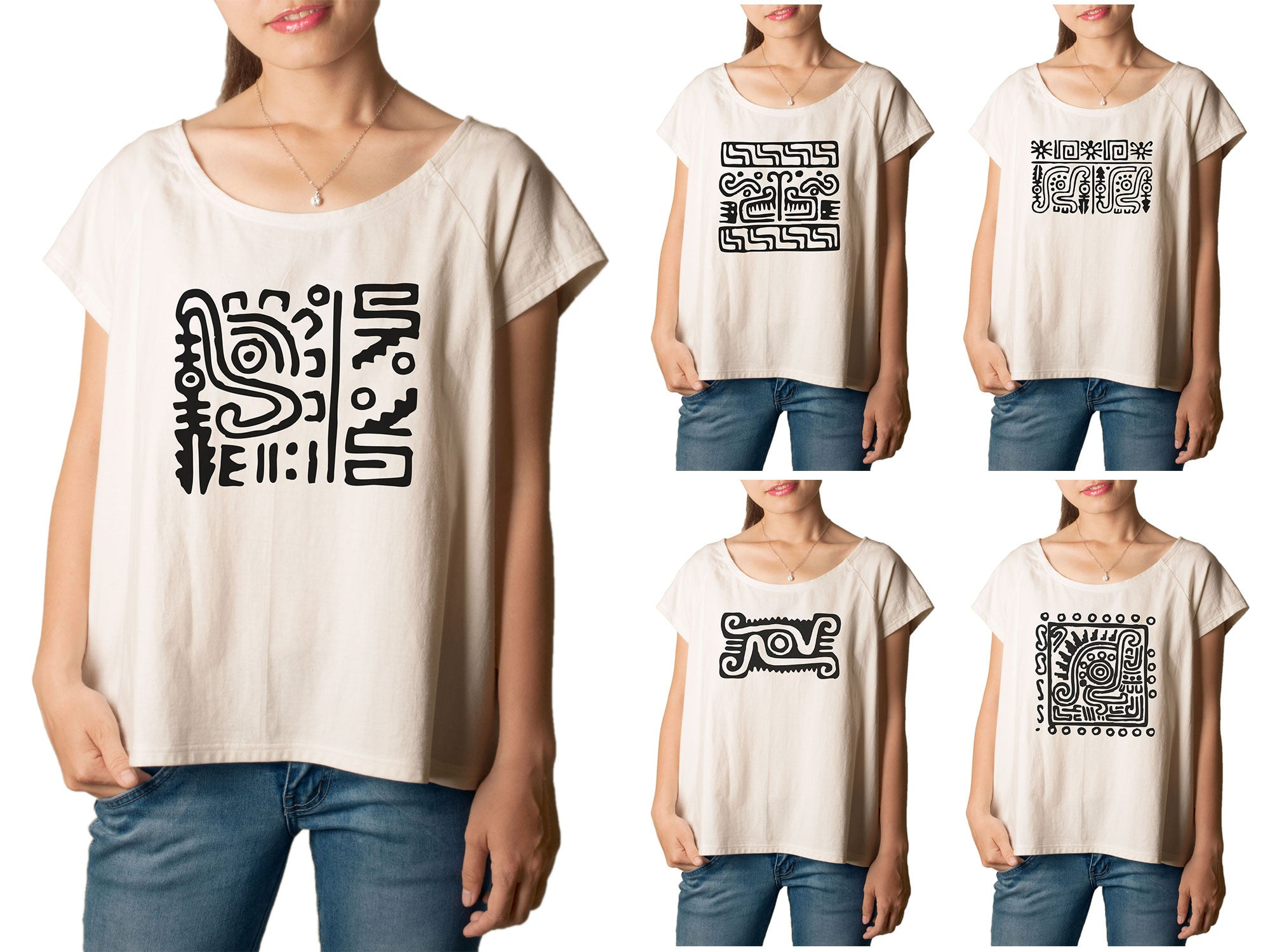 Women Mexican Symbol 10 Printed T-shirt WTS_01