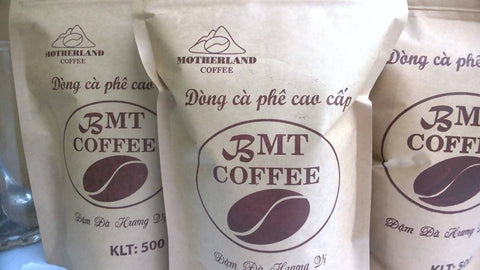 Motherland Coffee - Pure Moka & Robusta coffe (500gram)