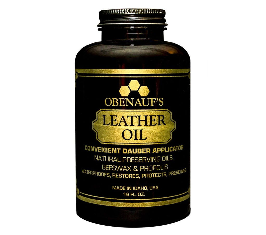 Obenauf's Leather OIL 8 or 16oz Preserves Protects Bags, Boots or Cars USA Made