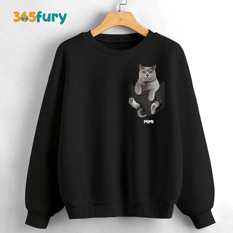 Personalized cat dad T-shirt