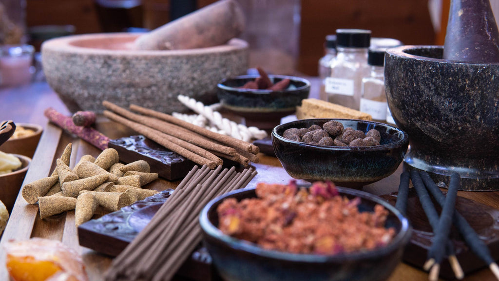 Invitation to the Traditional Incense Crafting Course